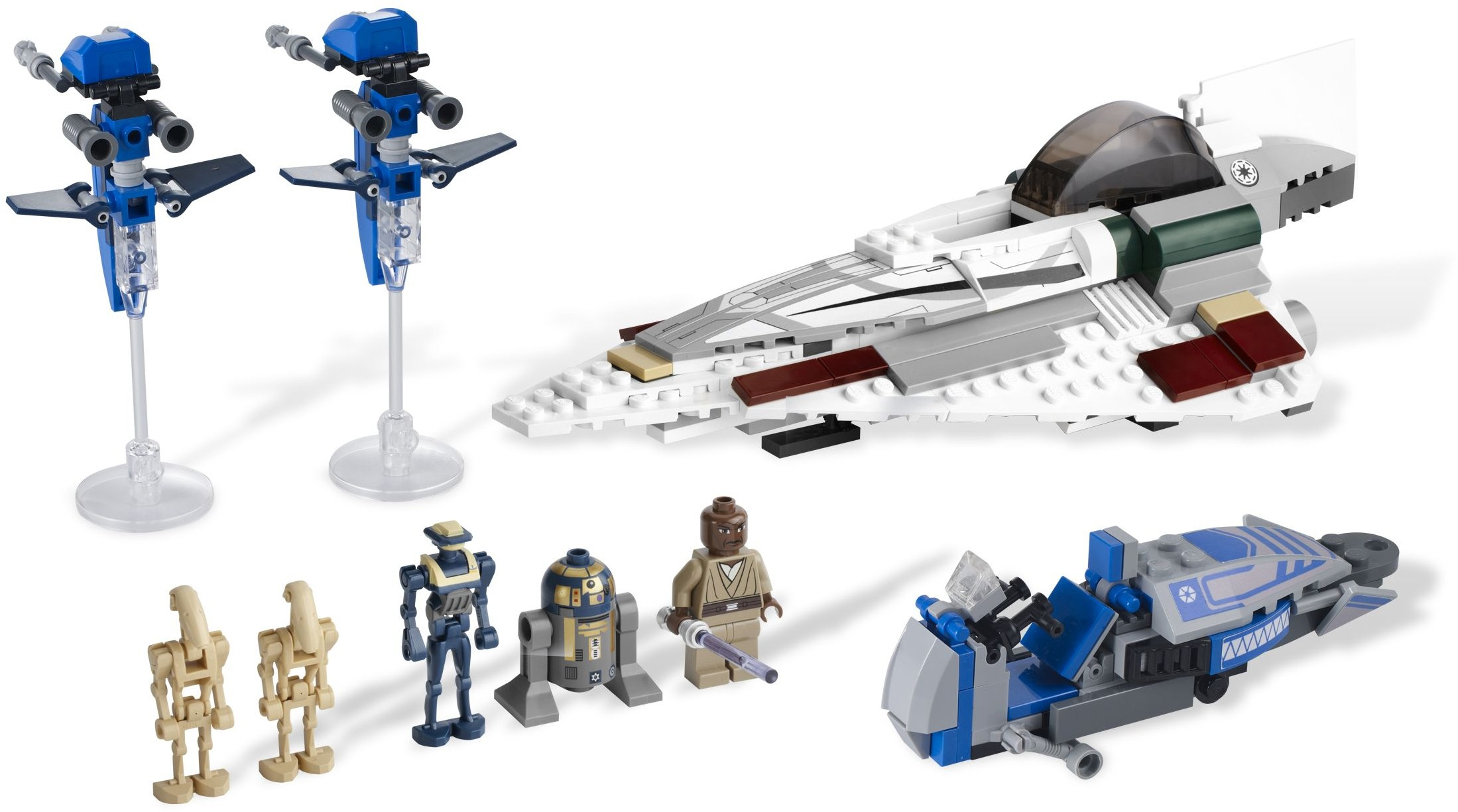 LEGO STAR WARS BATTLE DROID PILOT MINIFIGURE NEW MTT 7662