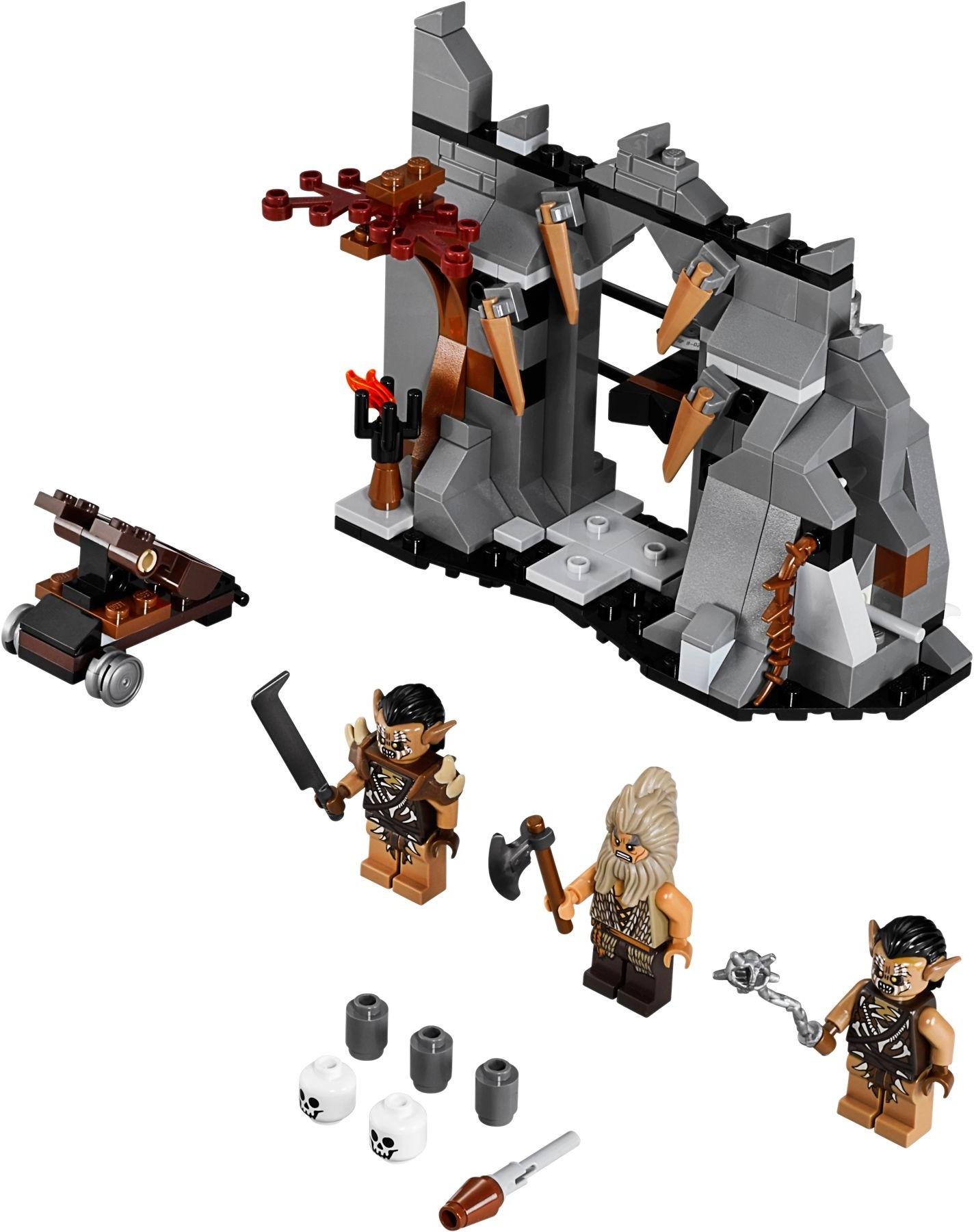 LEGO new PROMO POLYBAG Baggie set 30213 HOBBIT LORD RINGS Gandalf Dol Guldur Map
