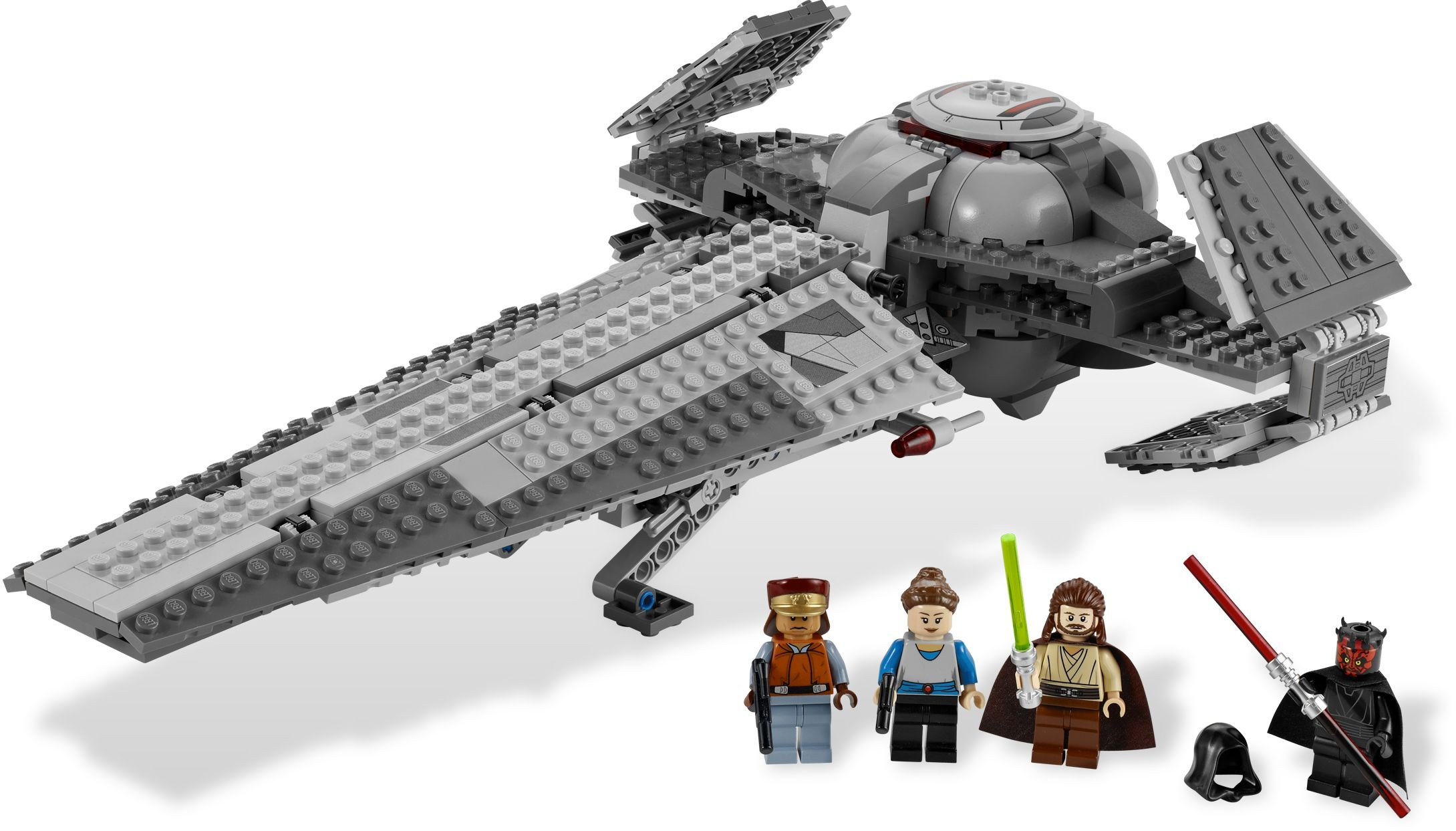 Lego Qui-Gon Jinn 7961 Reddish Brown Legs Episode 1 Star Wars Minifigure