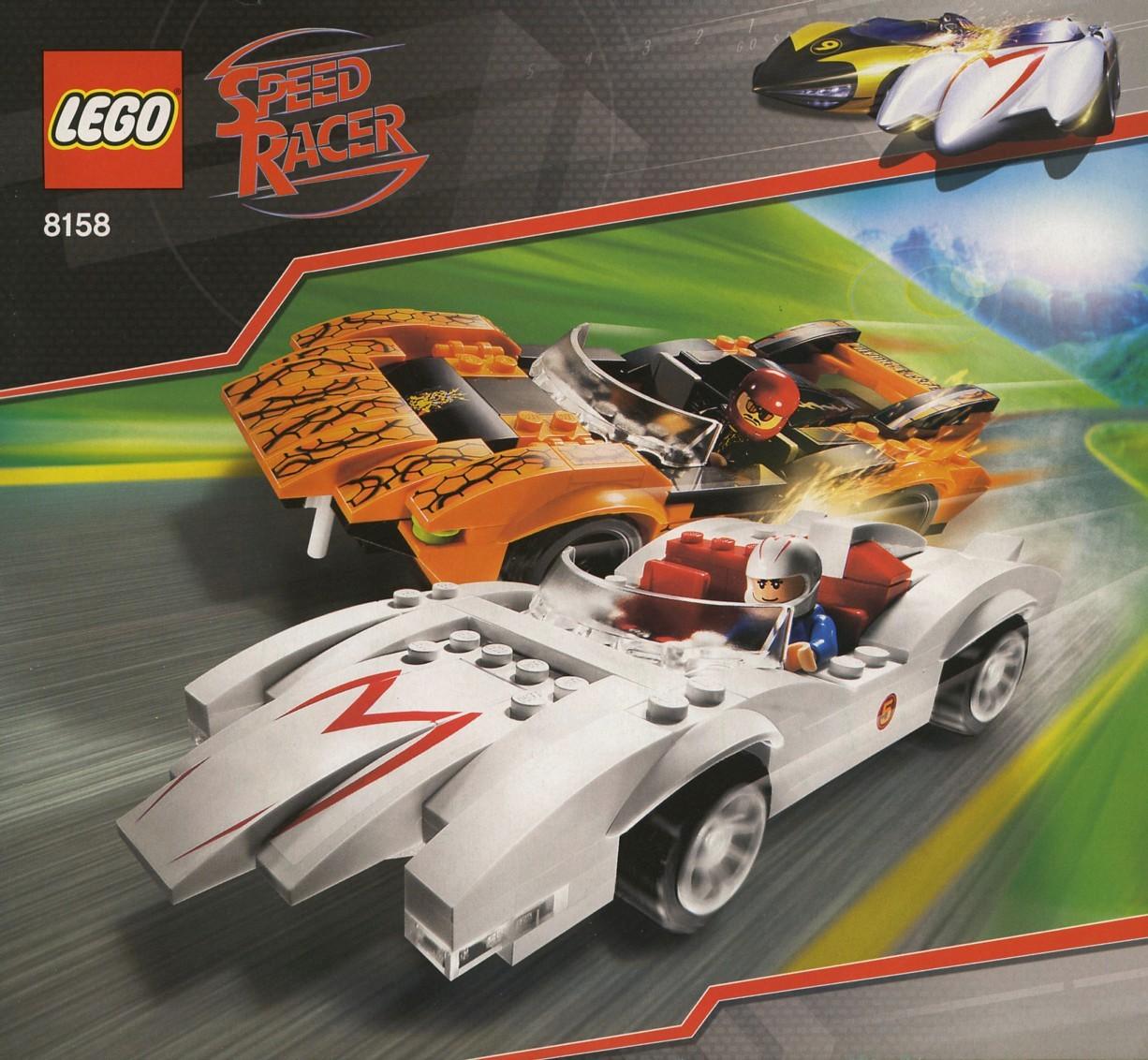Lego Cars  Racing Game