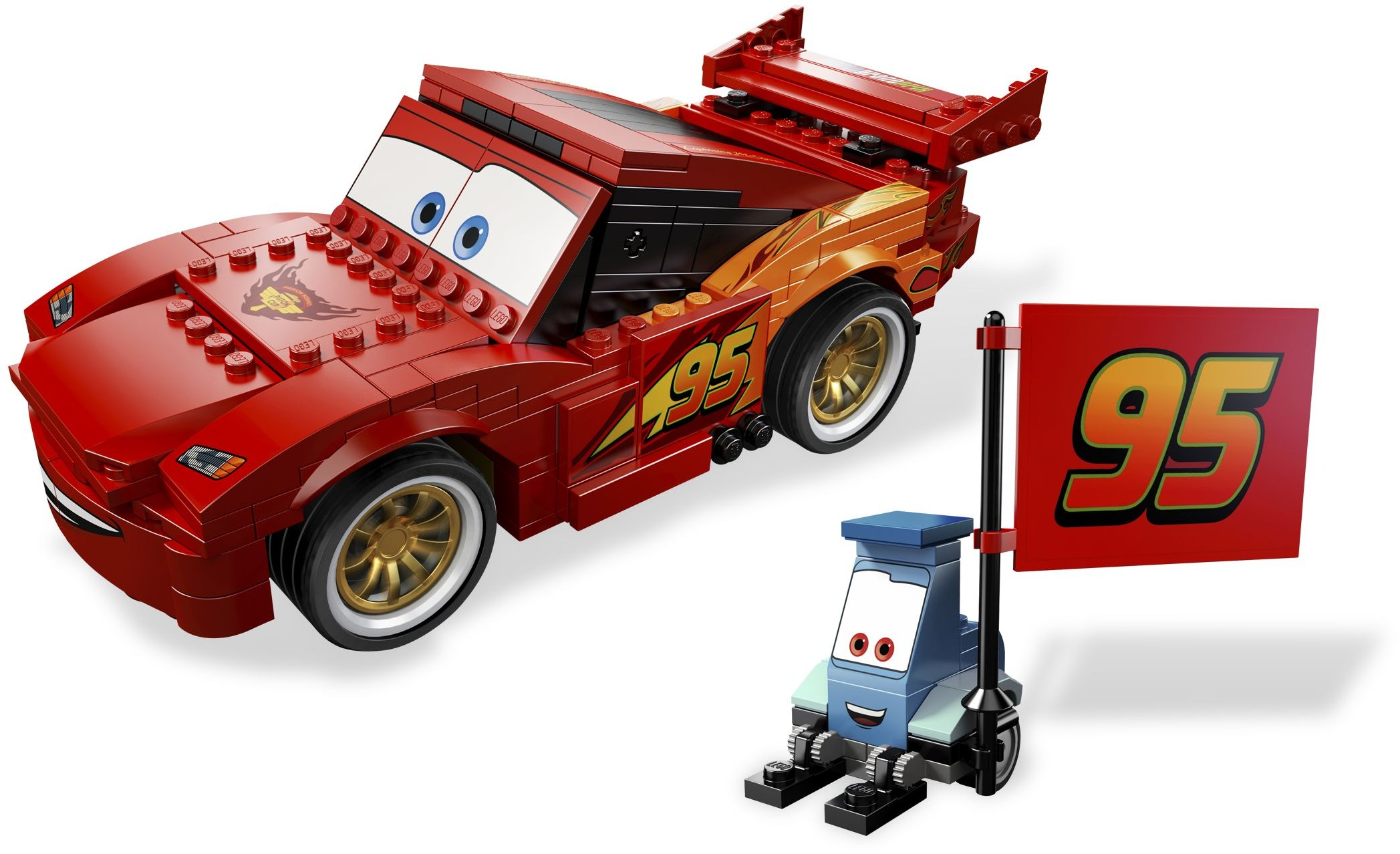 Cars Tagged Pixar Brickset Lego Set Guide And Database Ultimate Race 9485 Build Lightning Mcqueen