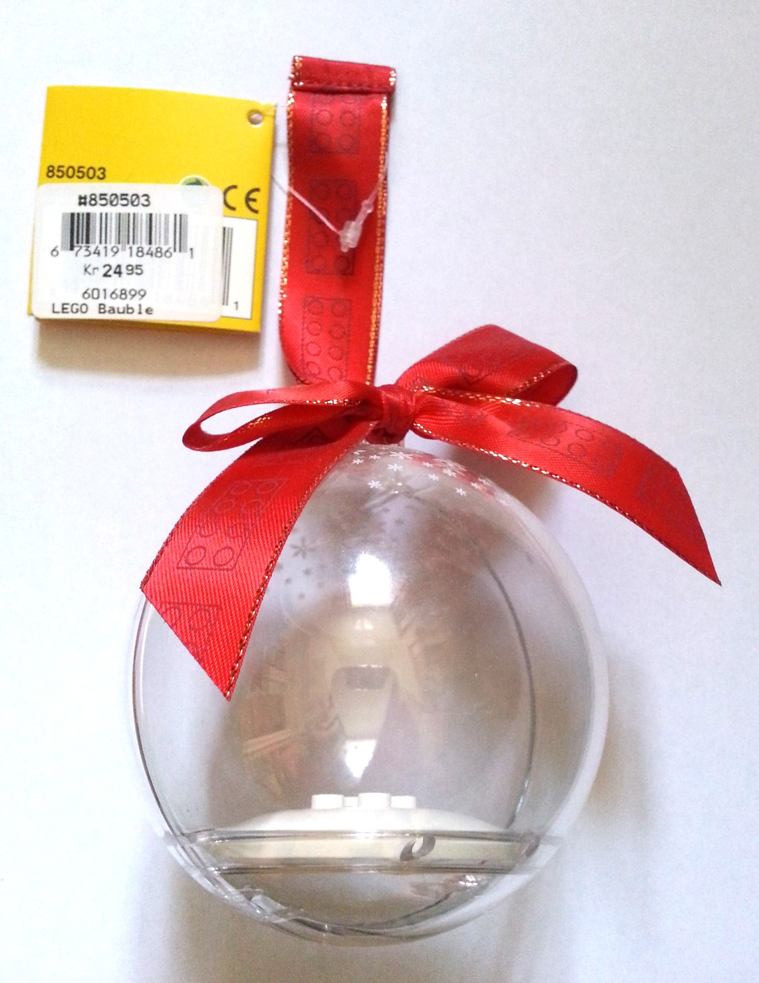 2018 LEGO Gift Holiday Christmas Ornament Ball Bauble 853815 New Presents