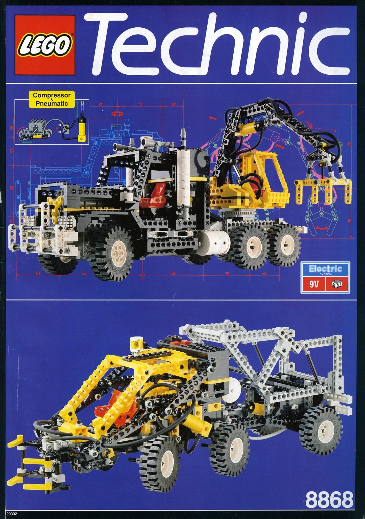 technic 1992 brickset lego set guide and database. Black Bedroom Furniture Sets. Home Design Ideas