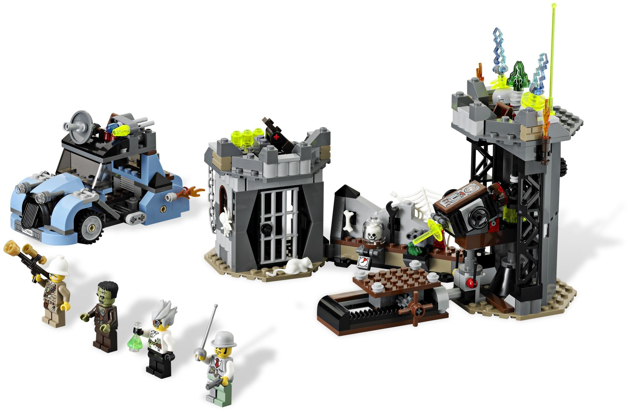 the crazy scientist his monster - Lego Monstre