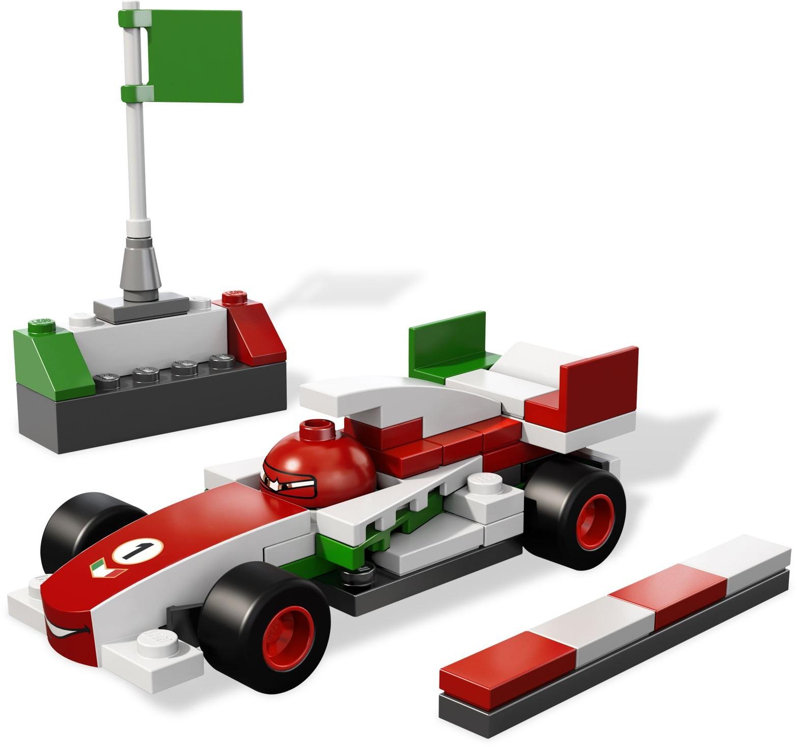 Cars 2012 Brickset Lego Set Guide And Database Ultimate Race 9485 Francesco Bernoulli