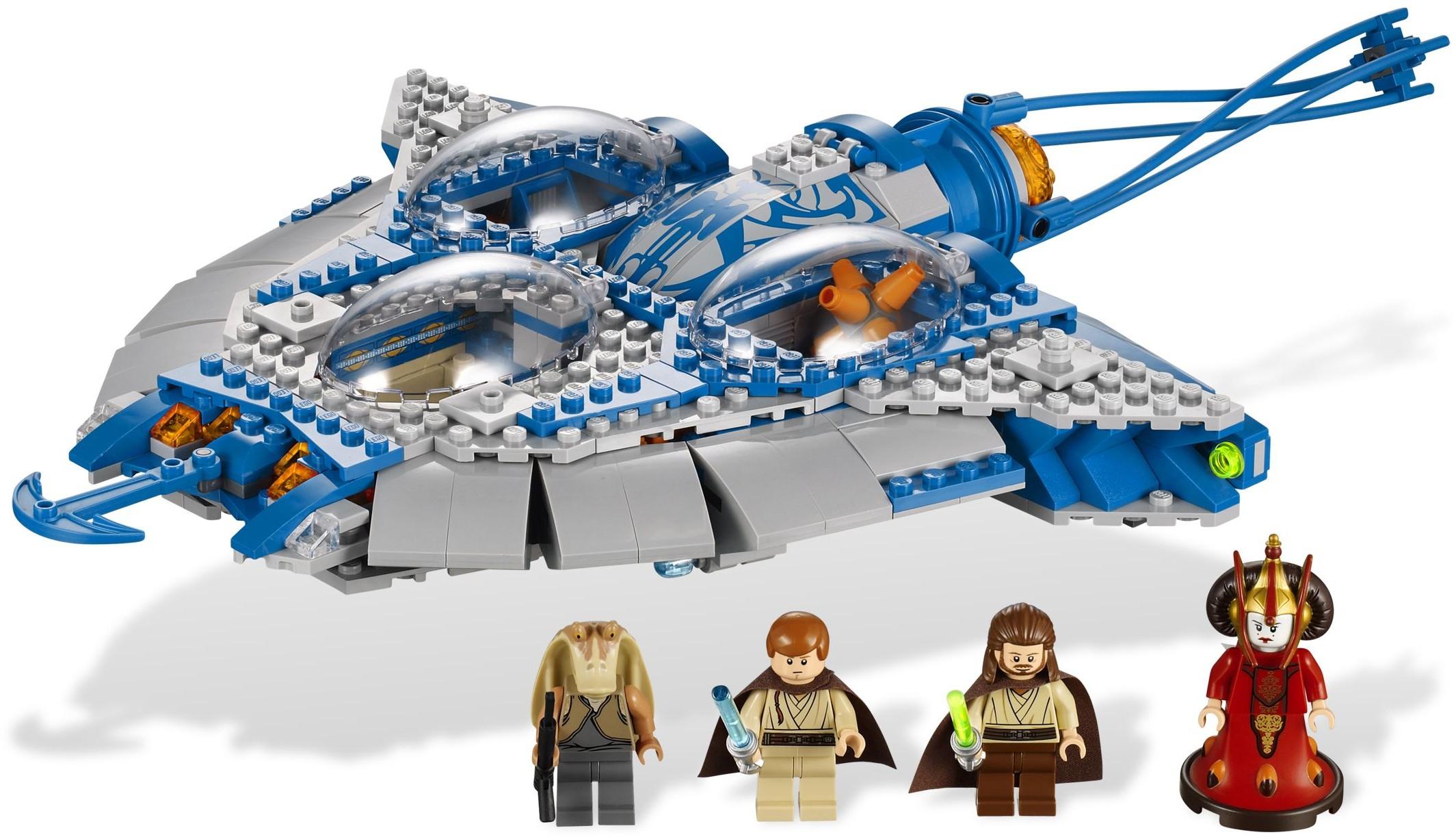 Gungan Sub Queen Amidala 9499 On Lego Bricks Construction