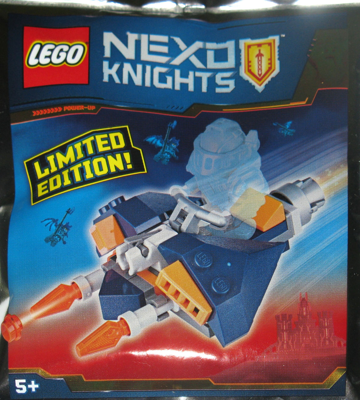 CYBER BYTER Limited Edition Foil Pack 271827 Neuf POLYBAG LEGO NEXO KNIGHTS