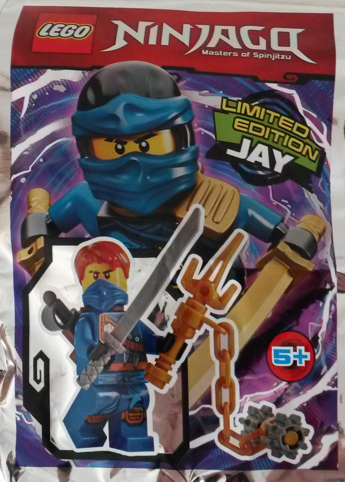LEGO NINJAGO JAY MINIFIGUR LIMITED EDITION Nr 891615 NEU POLYBAG!!