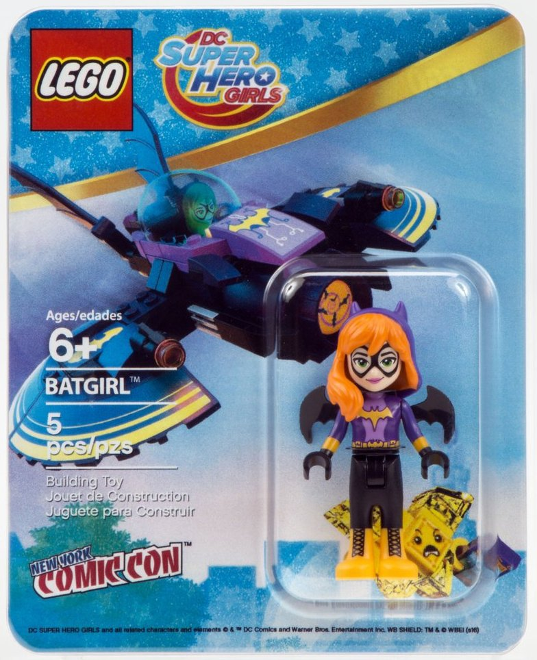 41238 New. Lego DC Super Hero Girls MiniFigure LENA LUTHOR 41232