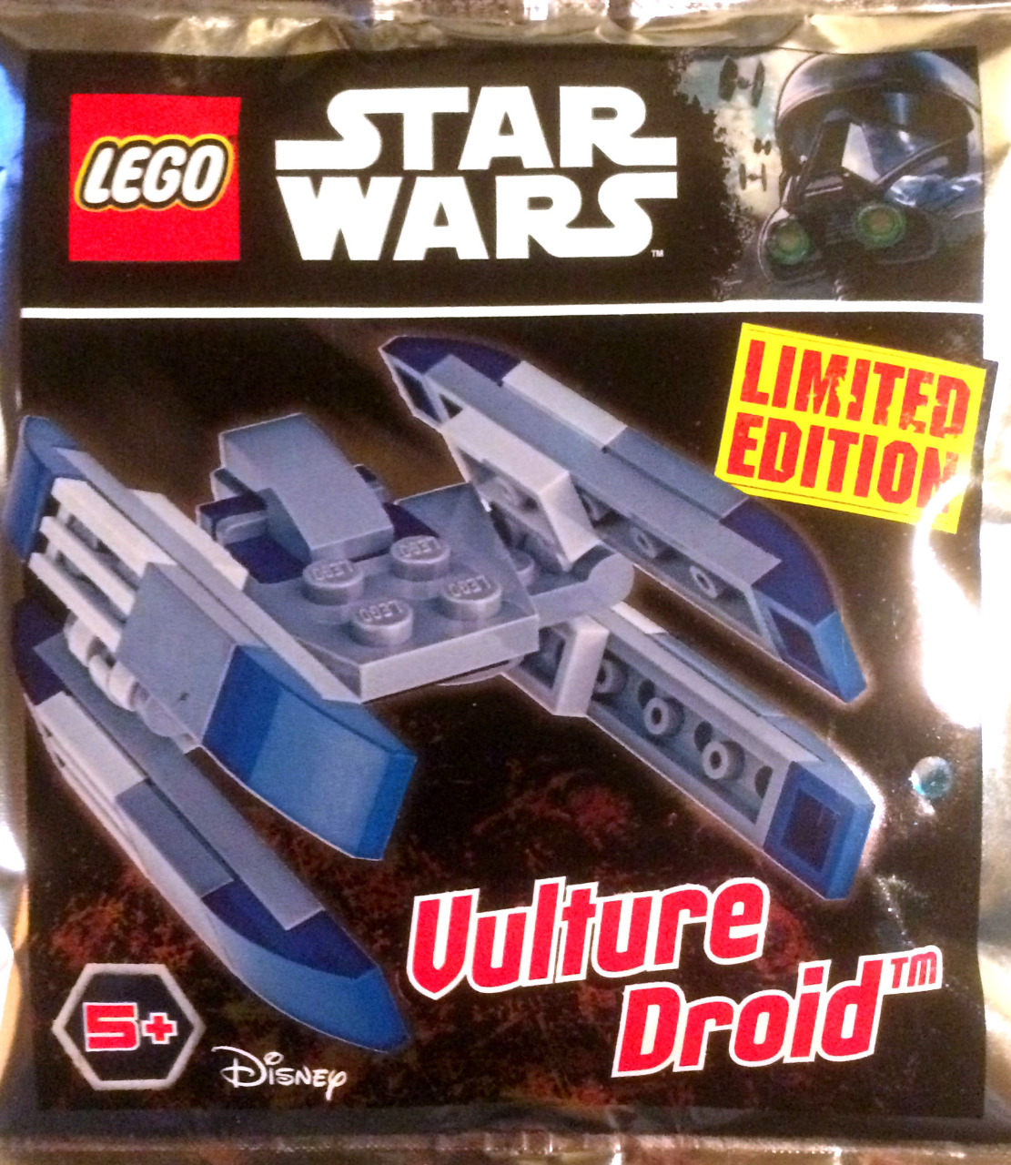 SHUTTLE PILOT FLASH SPEEDER 5x Lego STAR WARS: VULTURE DROID COMBAT DRIVER