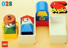 Lego 028 Nursery Furniture