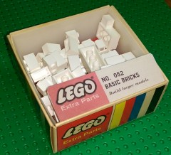 Lego 052 Assorted basic bricks - White