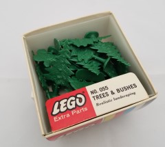 Lego 055 Trees & Bushes