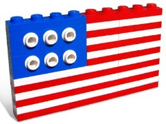 Lego 10042 U.S. Flag
