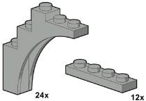 Lego 10047 Arch