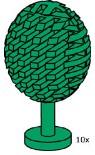 Lego 10111 Foliferous Tree