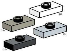 Lego 10115 Jumper Bricks