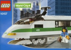 Lego 10157 High Speed Train Locomotive