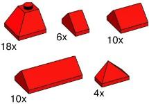 Lego 10162 Red Ridge Tiles