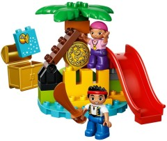 Lego 10604 Jake and the Never Land Pirates Treasure Island