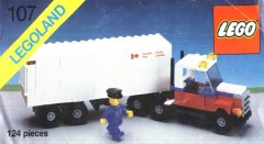 Lego 107 Mail Truck