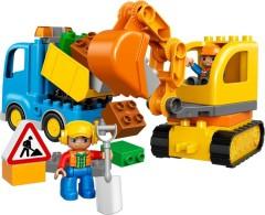 Lego 10812 Truck & Tracked Excavator
