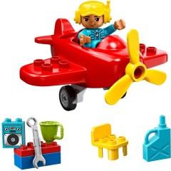 343721 /_LEGO Duplo Brick 2x2 /_ Bright Red Lot of 5 3437