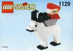 Lego 1129 Santa on Reindeer