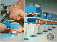 Lego 113 Motorized Train Set