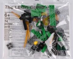 Lego 11909 Ninjago: Build your own Adventure parts