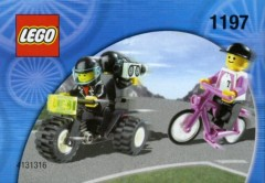 Telekom Race Cyclist and Television Motorbike