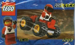 Random set of the day: Red Four Wheel Driver