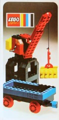 Lego 132 Port Crane and Flat Wagon