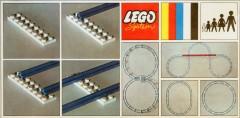 Lego 150 Straight Track
