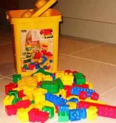 Lego 1501 Yellow Bucket
