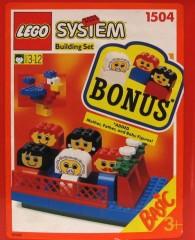Lego 1504 Family Bucket, 3+