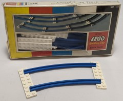 Lego 151 Curved Train Track