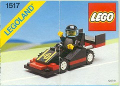 Random set of the day: Black Racing Car