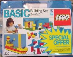 Lego 1520 Basic Building Set with Storage Case