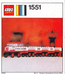 Lego 1551 Sterling Baggage Train