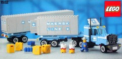Lego 1552 Maersk Truck and Trailer Unit