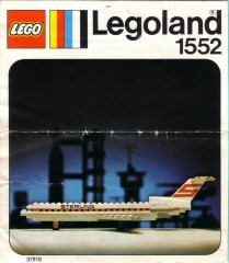 Lego 1552 Sterling Boeing 727