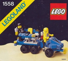 Lego 1558 Mobile Command Trailer