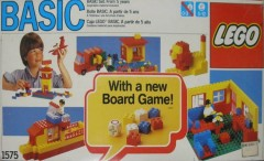 Lego 1575 Basic Set 5+ with Board Game