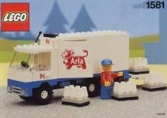 Lego 1581 Arla Milk Delivery Truck
