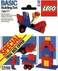Lego 1598 Trial Size Offer