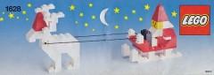 Lego 1628 Santa with Reindeer and Sleigh
