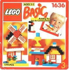 Lego 1636 Handy Bucket of Bricks, 3+