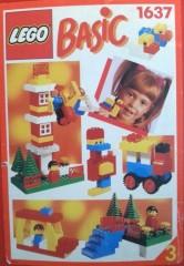 Lego 1637 Basic Building Set, 3+