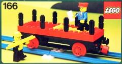 Lego 166 Flat wagon
